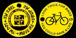 Look Twice Bike Coin2