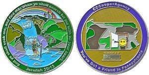 CCCooperAgency Geocoin