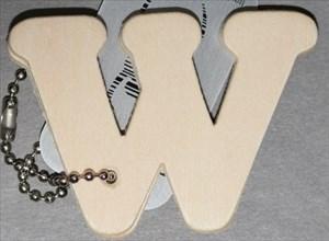 WoodenLetterW