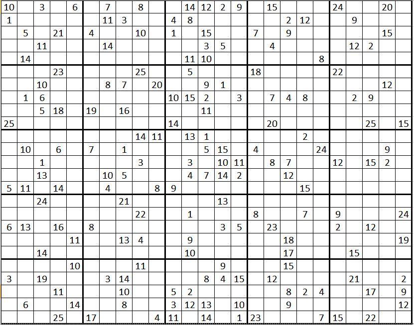 GC7KXTE Mega Sudoku (Unknown Cache) in Baden-Württemberg, Germany ...