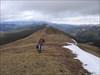 Traversing the open ridge