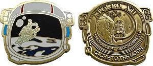 Cache to the Moon Geocoin