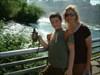 Carol & Jr at the Bridal Veil Falls