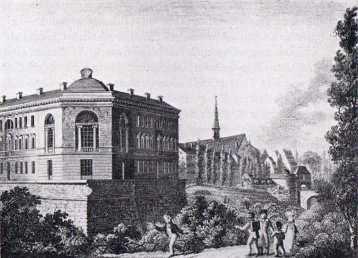 Moritzbastei und Städtische Bürgerschule