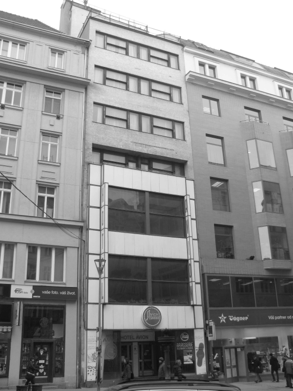 Hotel Avion ulice Ceská