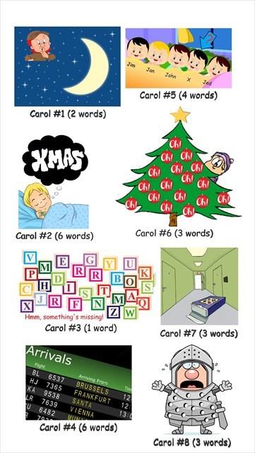 Christmas Carols Cartoons