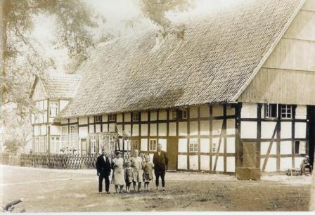 Der Witthof um 1928