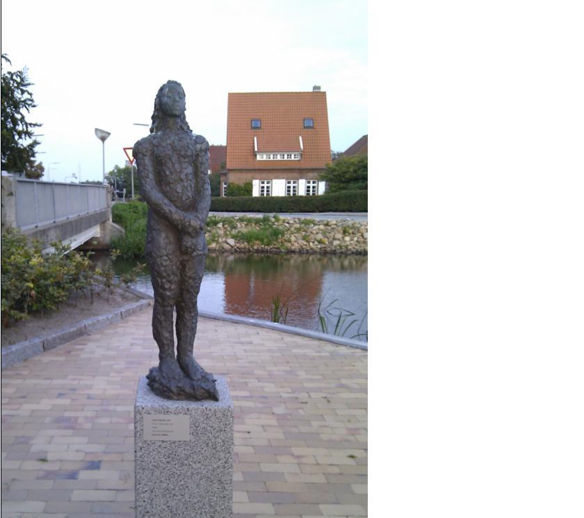 Emma ved Møllesøen i Tønder