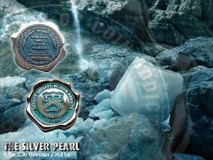 S.S.o.C.A. Geocoin - The Silver Pearl / XLE 56