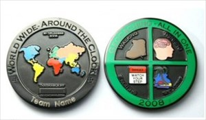 All in One Geocoin 2008