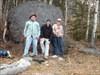 BCP433 - The crew near Dyson Falls