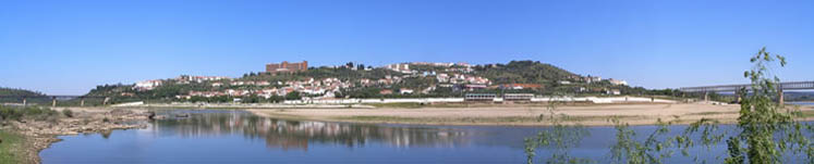 Tagus River in Abrantes