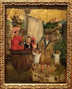 Eustachova žena míří do otroctví