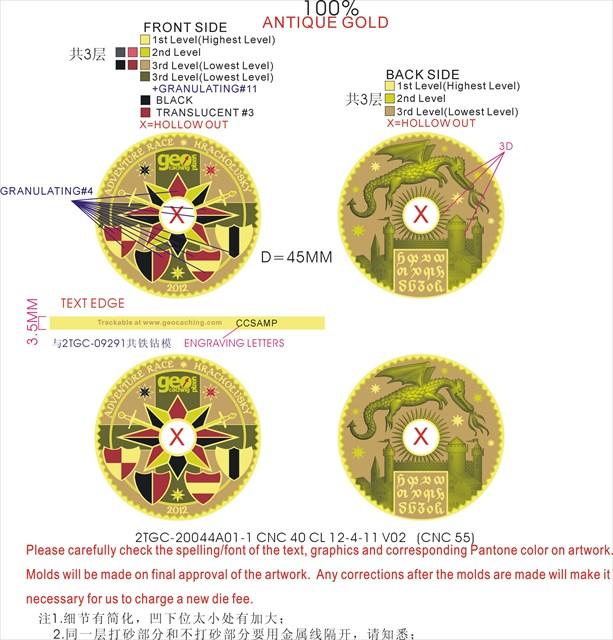 Finální verze coinu ARH 2012