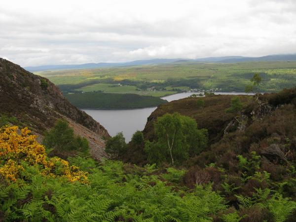 Rocks around Loch Ness