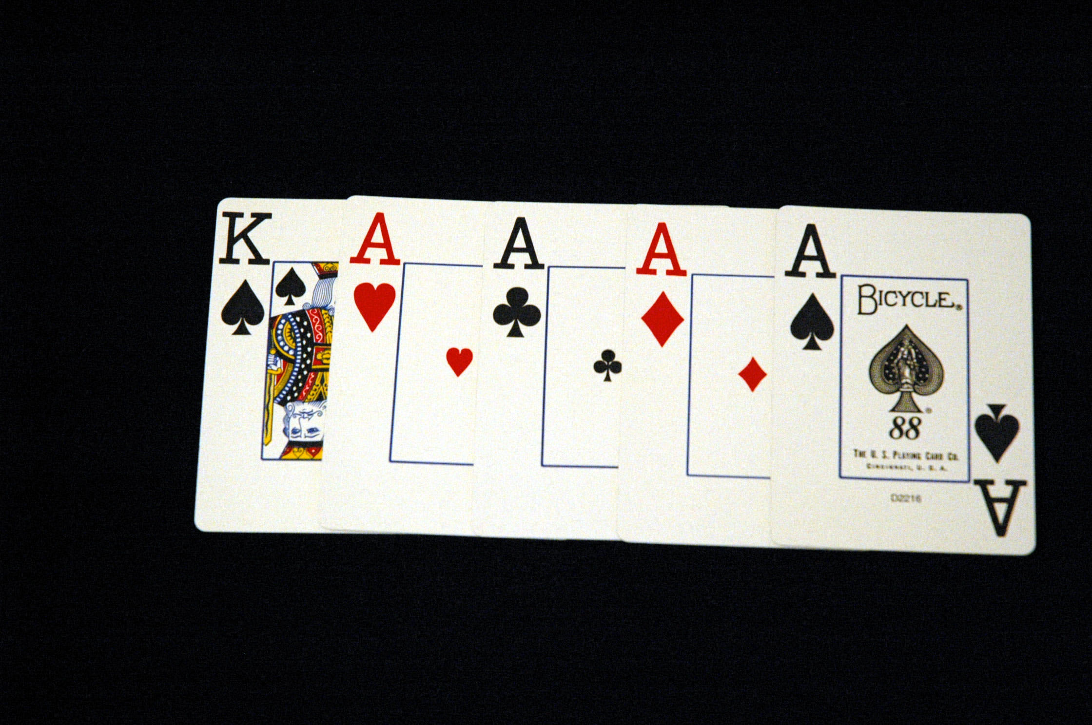 poker 4 of a kind