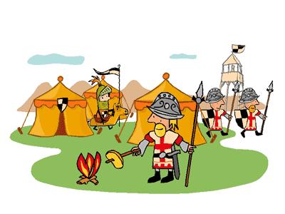 Ridder Hoen en zijn mannen