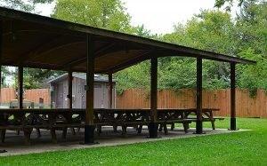Hancock Primitive Park Pavilion