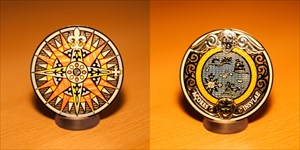 Compass Rose Geocoin 2010 Limited
