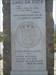 The monument inscription