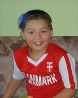 My sponsorchild Kiki in Croatia