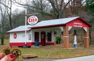 2. Old Esso Station in Landrum, SC