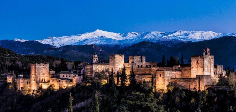 Visita nocturna a la Alhambra
