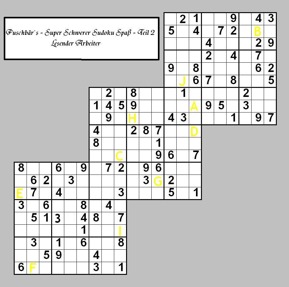 Sudoku - Teil 2