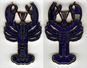 north alantic lobster silver blue