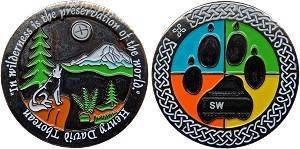 SnowWolf Geocoin