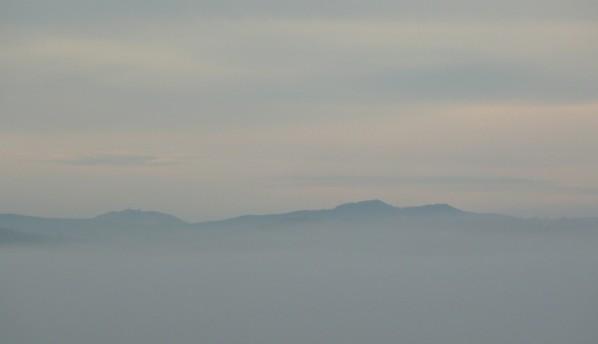 Velký Javor a vrcholy Ostrého