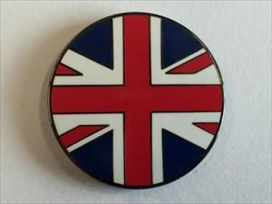 United Kingdom Flag Micro Geocoin