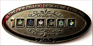 1 Million Geocache 8.MÄRZ 2010