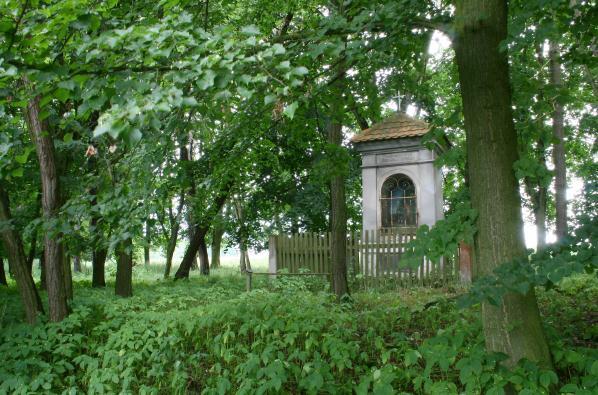 Kaple mezi stromy