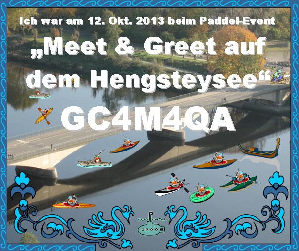 Meet & Greet auf dem Hengsteysee [Paddel-Event] - GC4M4QA