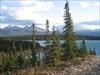 Abraham Lake - looking south