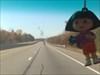 Dora on her way to Kingston
