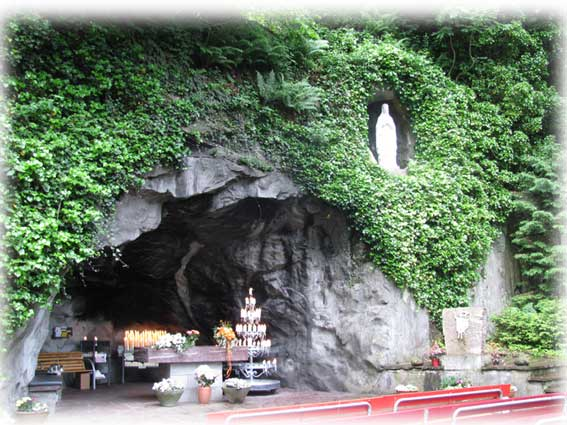 Lourdes Grotte Mels
