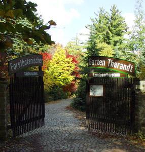 Forstgarten - Eingang