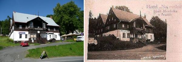 Na Rychtě 1947 a dnes