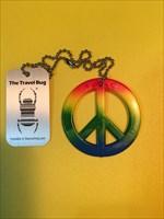 PEACE TRAVEL BUG