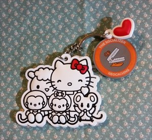 Added a Hello Kitty & Friends Keychain!