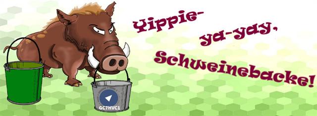 GC7HVC1- Yippie-ya-yay, Schweinebacke!