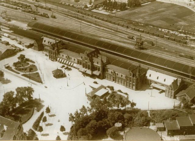 NS station Nijmegen in 1927