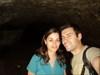 Eu e a Daniela na gruta