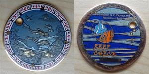 Reefcheck Geocoin_klein_23-10-2012