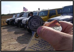 'Mud on the Tires'... It's a Jeep caching thing!
