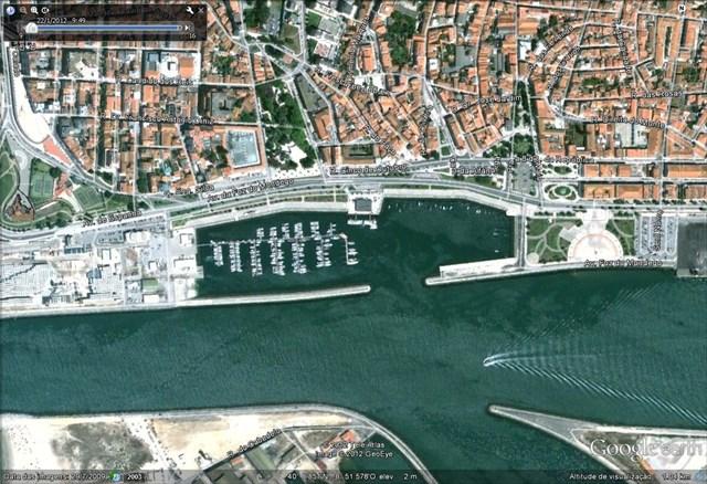 vista aérea em 2009