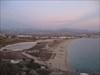 Agios Prokopios beach and salt lakes