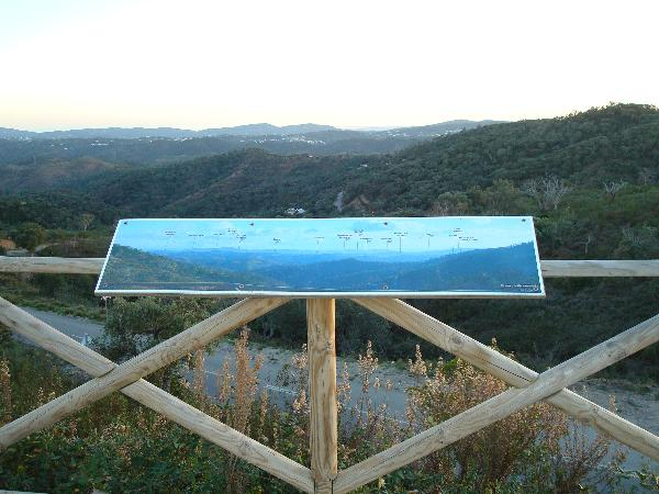 Vista do Miradouro do Alto da Ameixeira